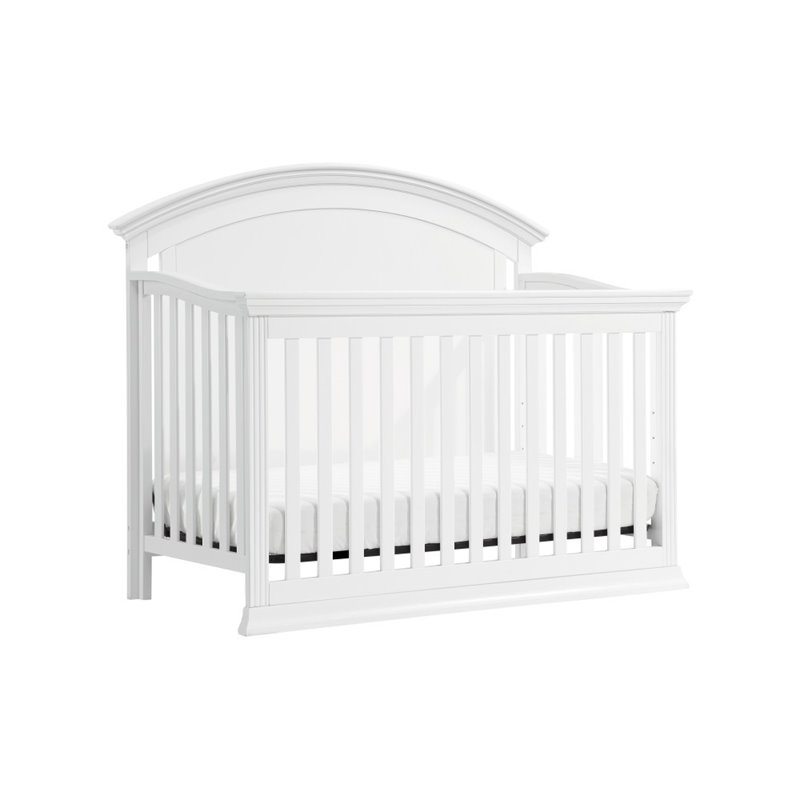 million dollar baby classic wembley 4 in 1 convertible crib in white