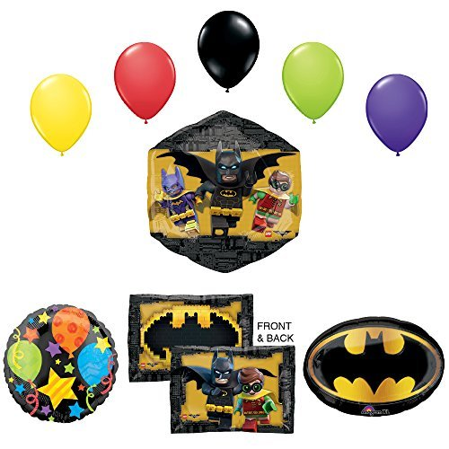 The Lego Batman Movie Birthday Party Supplies and Balloon ...