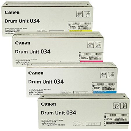 Canon CRG-034 Standard Yield Drum Unit Set