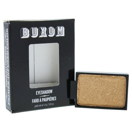 Halloween Bat Eyeshadow (Eyeshadow Bar Single - Gold Status by Buxom for Women - 0.05 oz Eye Shadow)