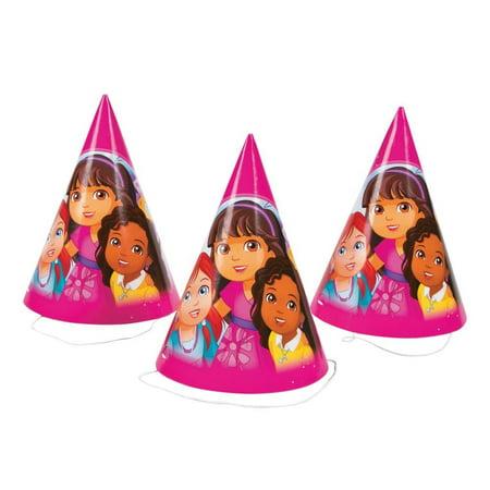 Dora Friends Party Hats