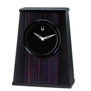 Bulova Oblique Desk Clock