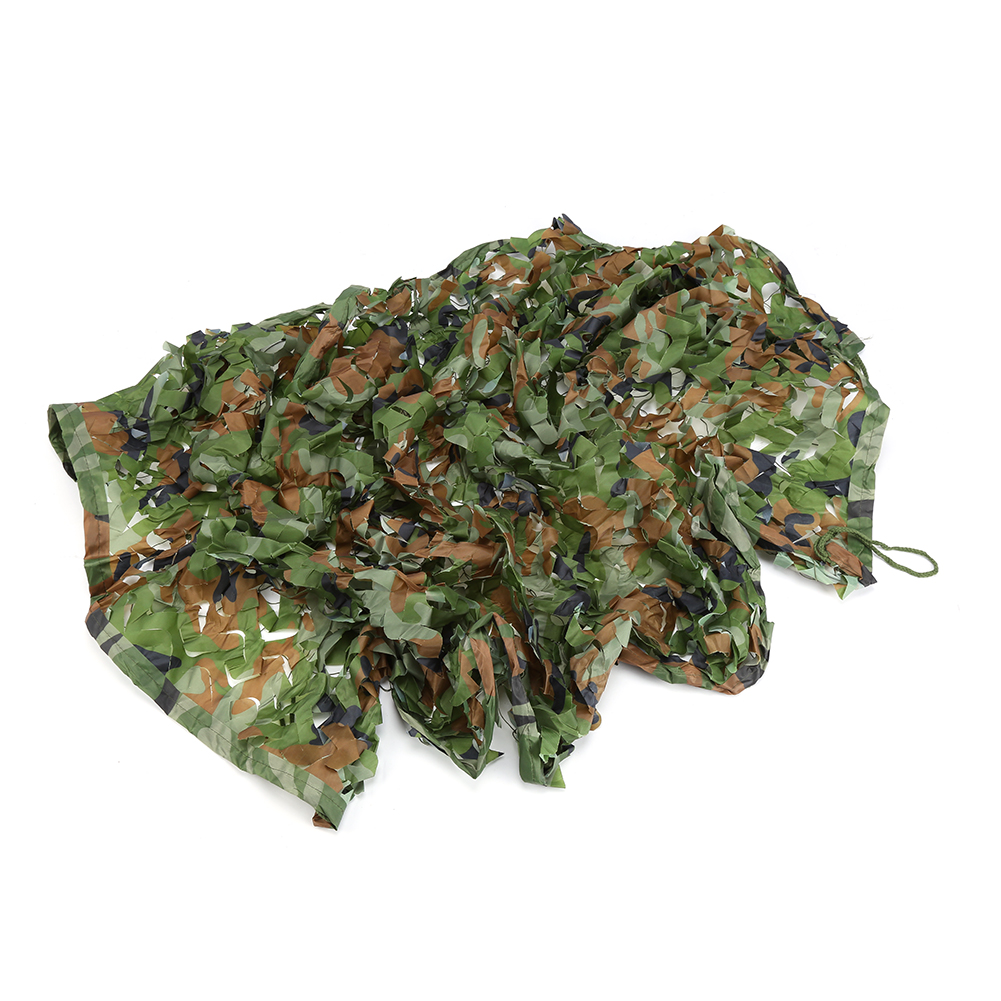 "Camouflage Military Netting, Nylon 39*78"" Army Woodland Camping Camo Net for Military Camping Hunting Shooting"