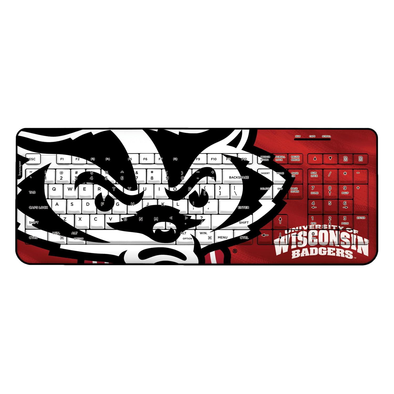 Wisconsin Badgers Wired USB Keyboard NCAA