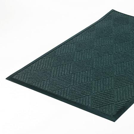 Super Soaker Diamond Mat - Crown Super-Soaker Diamond Mat, Polypropylene, 34 x 58, Slate -CWNS1R035ST