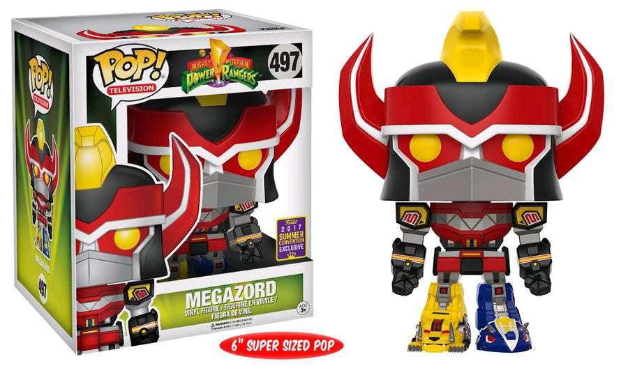 Power Rangers Funko POP! Television Megazord Vinyl Figure [Super-Sized] by Funko