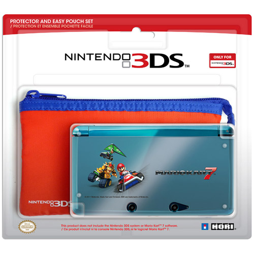 Hori 3DS Protector and Skin Set, Mario Kart (DS)