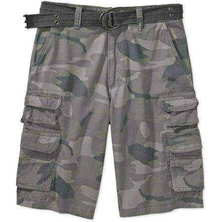 846be78179 Op - Op - Men's Belted Cargo Camo Shorts - Walmart.com