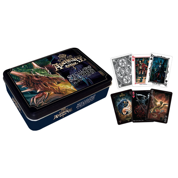 Alchemy Gothic Playing Card Gift Tin