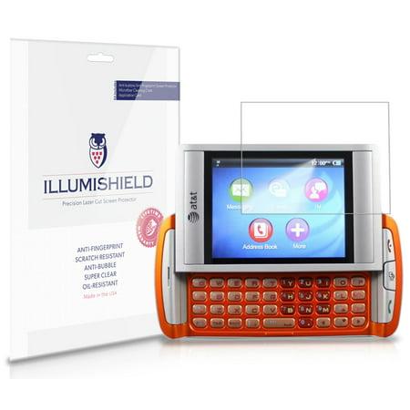 Quickfire Screen (iLLumiShield Phone Screen Protector w Anti-Bubble/Print 3x for AT&T Quickfire )