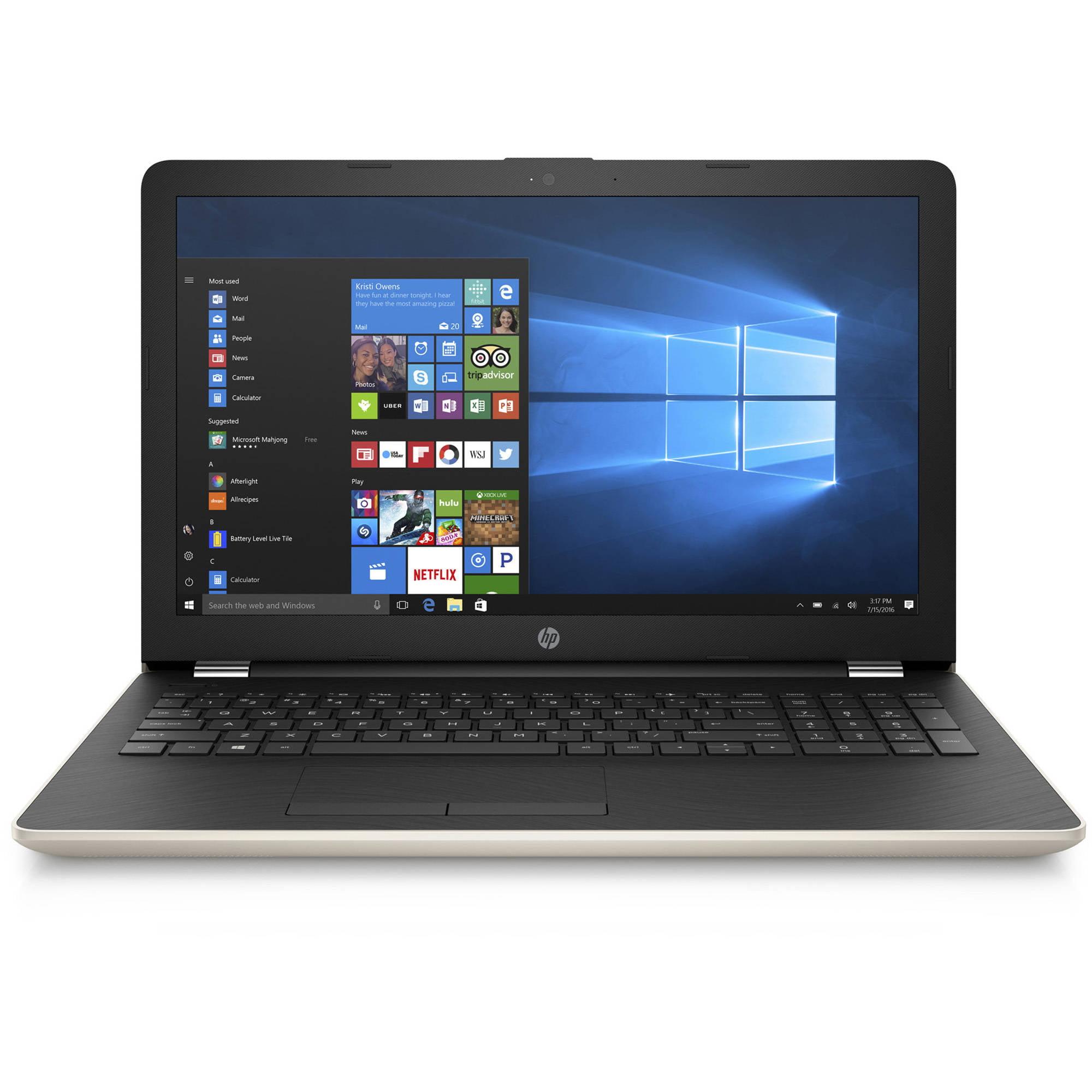 "HP 15-Bw071Nr 15.6"" Laptop, Windows 10 Home, AMD A9-9420 Dual-Core Processor, 4GB RAM, 1TB Hard Drive"