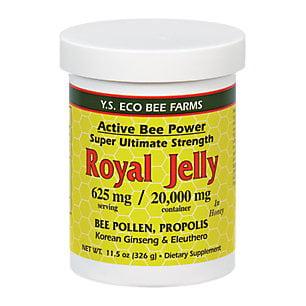 Ys Organic Bee Farms   Multi Bee Power Royal Jelly 625 Mg    11 5 Oz
