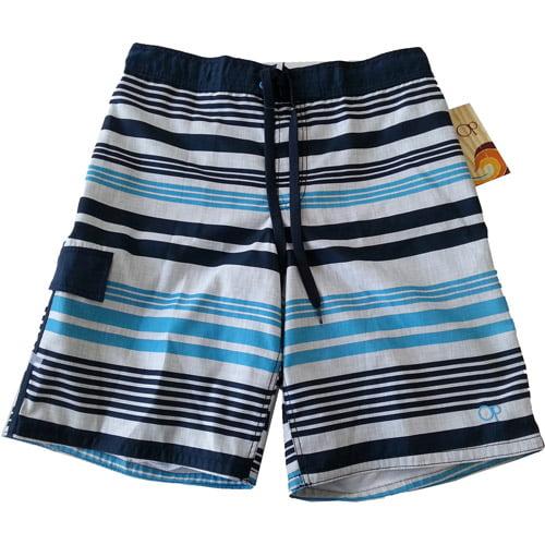 Op Men's Stripe E-Boardshort