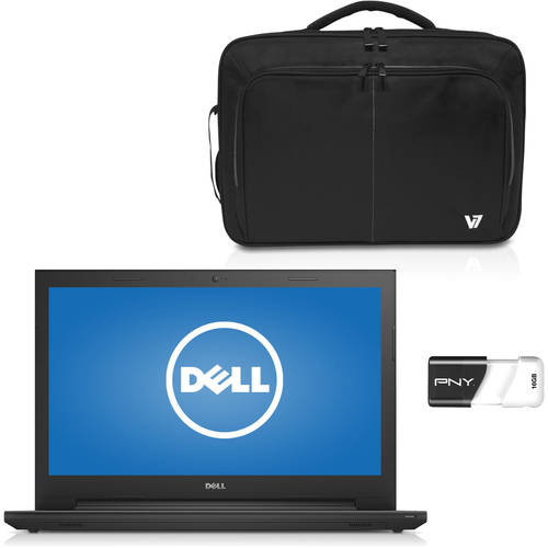 Laptop Value Bundle w/ Laptop, Case & USB Flash Drive