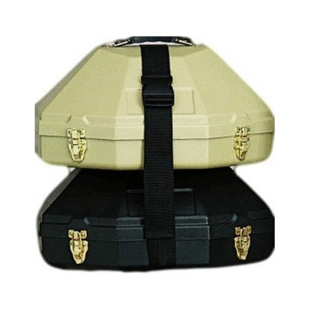 (M&F Western Double Hat Can Cinch Nylon Strap Black 01064)