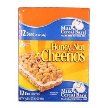 Product Of General Mills, Honey Nut Cheerios Cereal Bar, Count 12 (1.4 oz) - Granola/Cereal/Oat/Brkfast Bar / Grab Varieties & Flavors