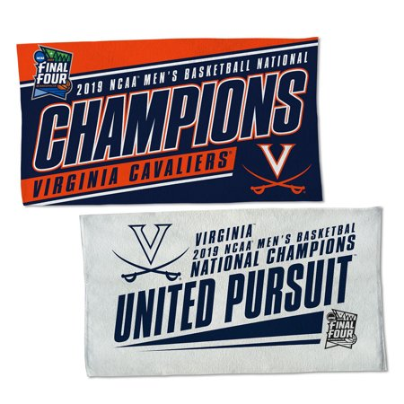 Cavalier Bath (Virginia Cavaliers 2019 Basketball National Champions On Field Towel )