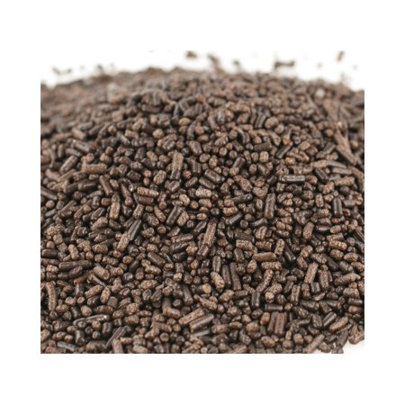 - Sprinkles Chocolate Dark Brown Jimmies Bakery Topping 1 pound