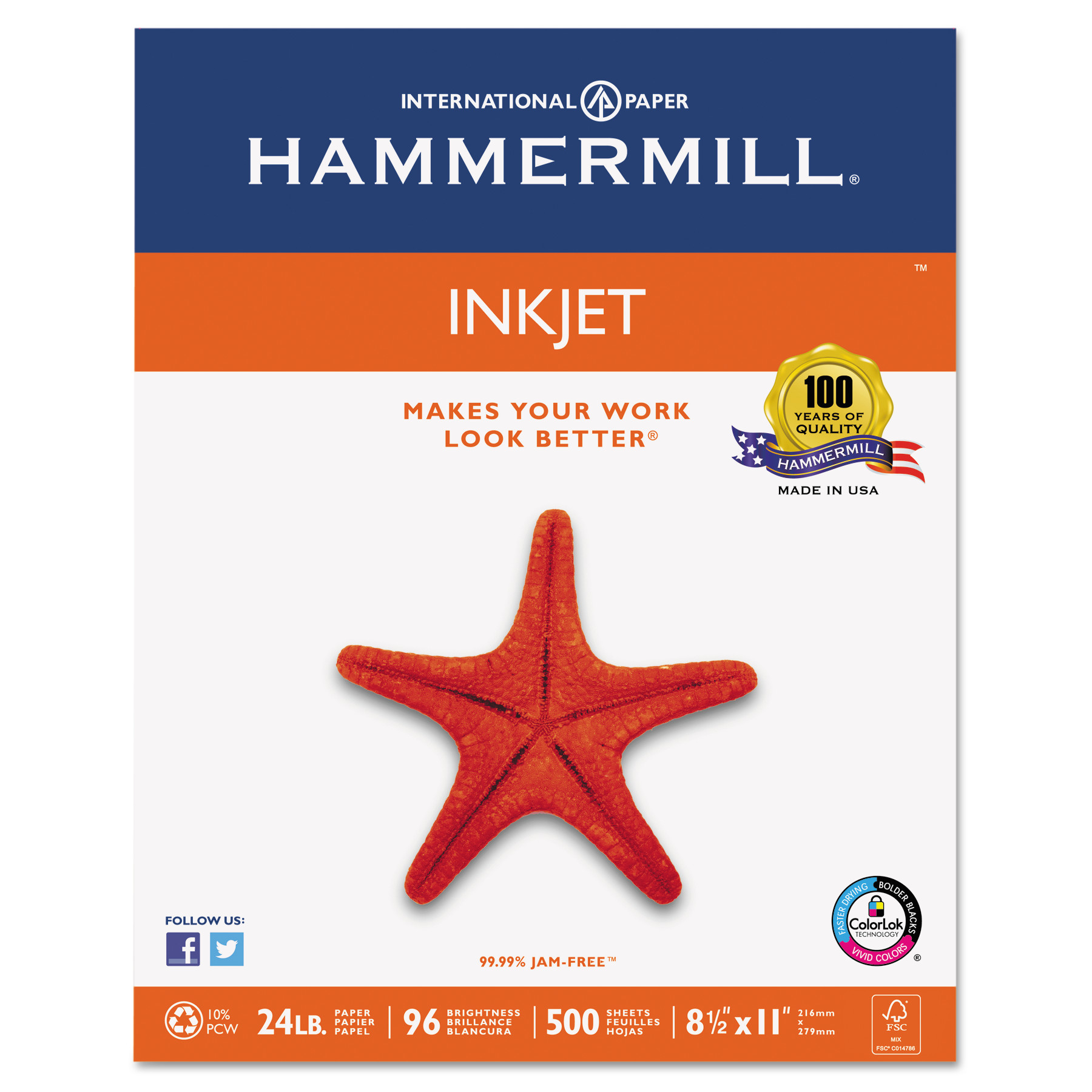 A Higher Grade Of Paper by Hammermill