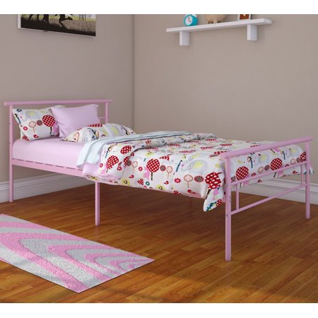 Rack Furniture Seattle Classic Metal Bed, Twin, Multiple Colors