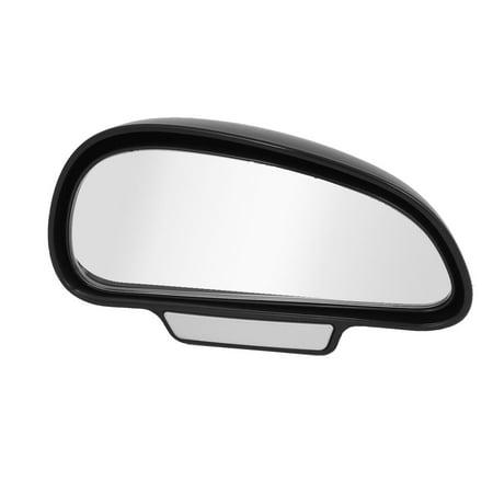 Unique Bargains Universal Car Black Plastic Right Side Wide Angle Reverse Rear View Mirror