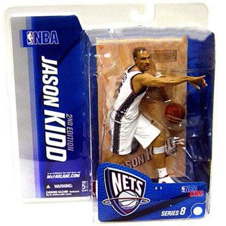 McFarlane NBA Sports Picks Series 8 Jason Kidd Action Figure [White Jersey]