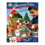 The Elf pets on the Shelf Christmas Cabin Doll Playset