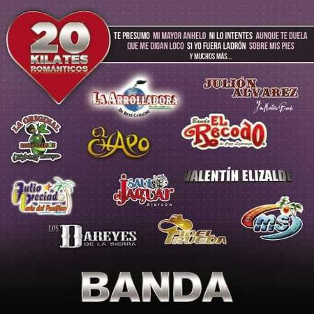20 Kilates Romanticos Banda (CD)