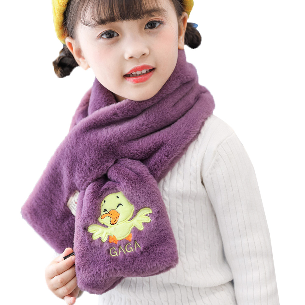 Kids Scarf Two Cats In Love Muffler Winter Warm Shawl Wrap For Boys