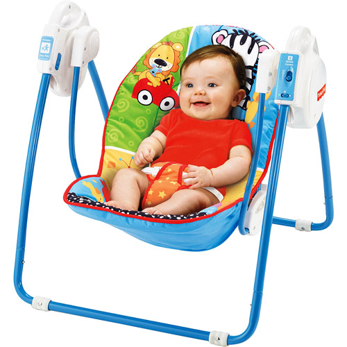 Fisher-Price - Adorable Animals Take-Along Swing