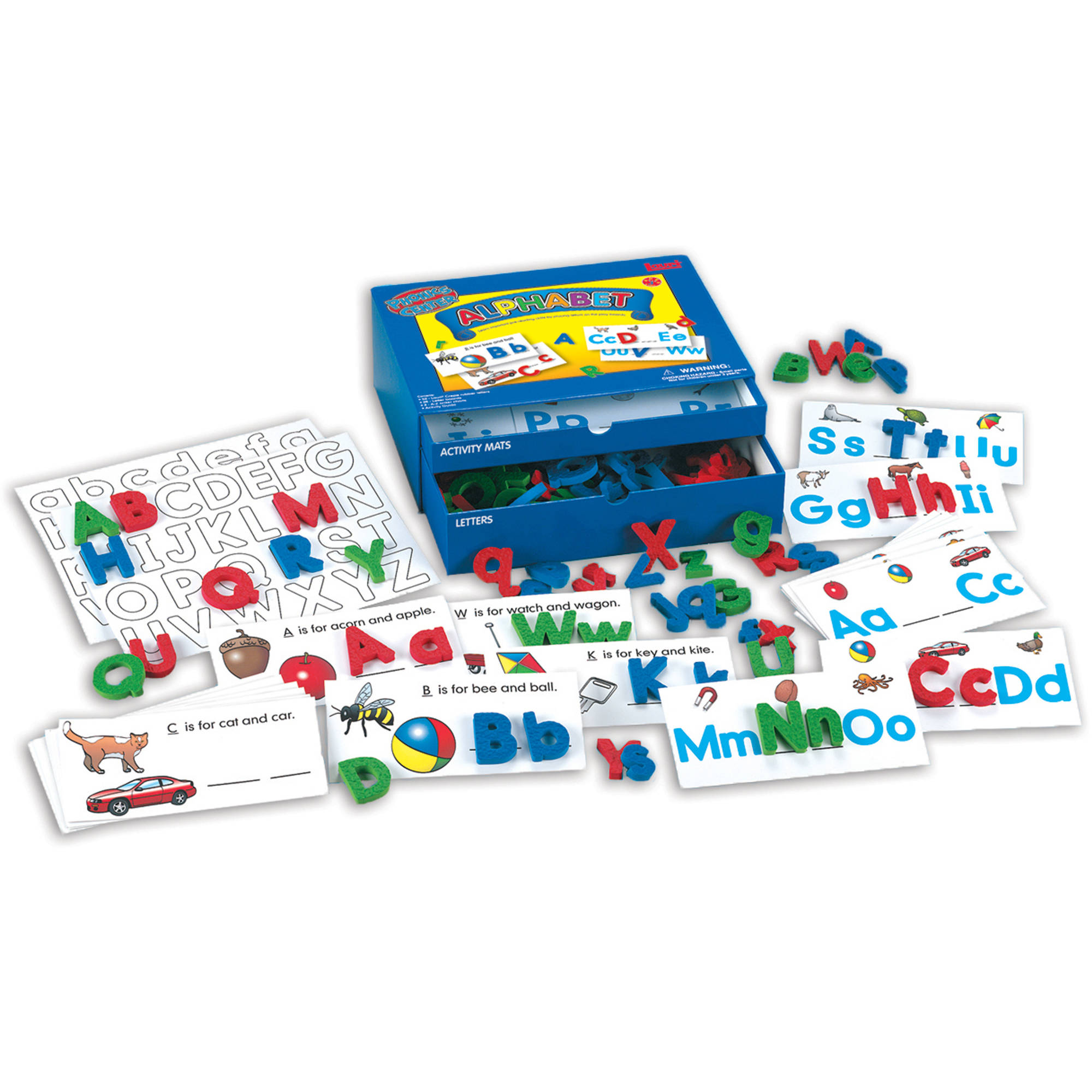 LAURI Educational Phonics Kit, Alphabet