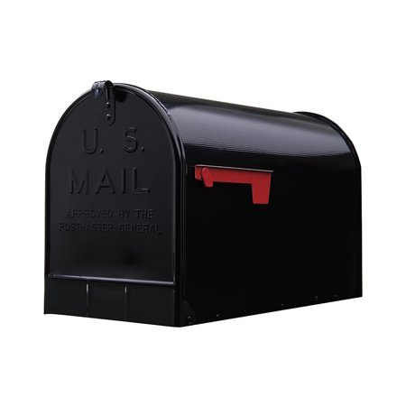 Stanley Extra-Large Capacity Galvanized Steel Black, Post-Mount Mailbox, ST200B00, Extra-Large capacity fits multiple packages, boxes, and.., By Gibraltar Mailboxes (Catalogs By Mail)