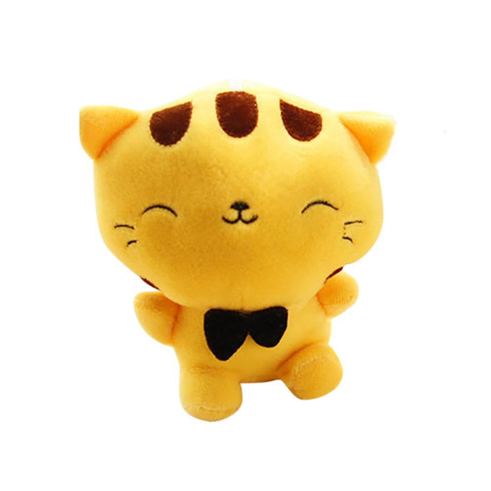 DZT1968 Stuffed Toy Animal Soft Simulation Lovely Plush Doll Cute Kitty Kawaii Toy