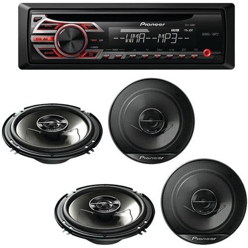 Receiver Indash Receiver 6.5 Speakers Coaxial Speakers