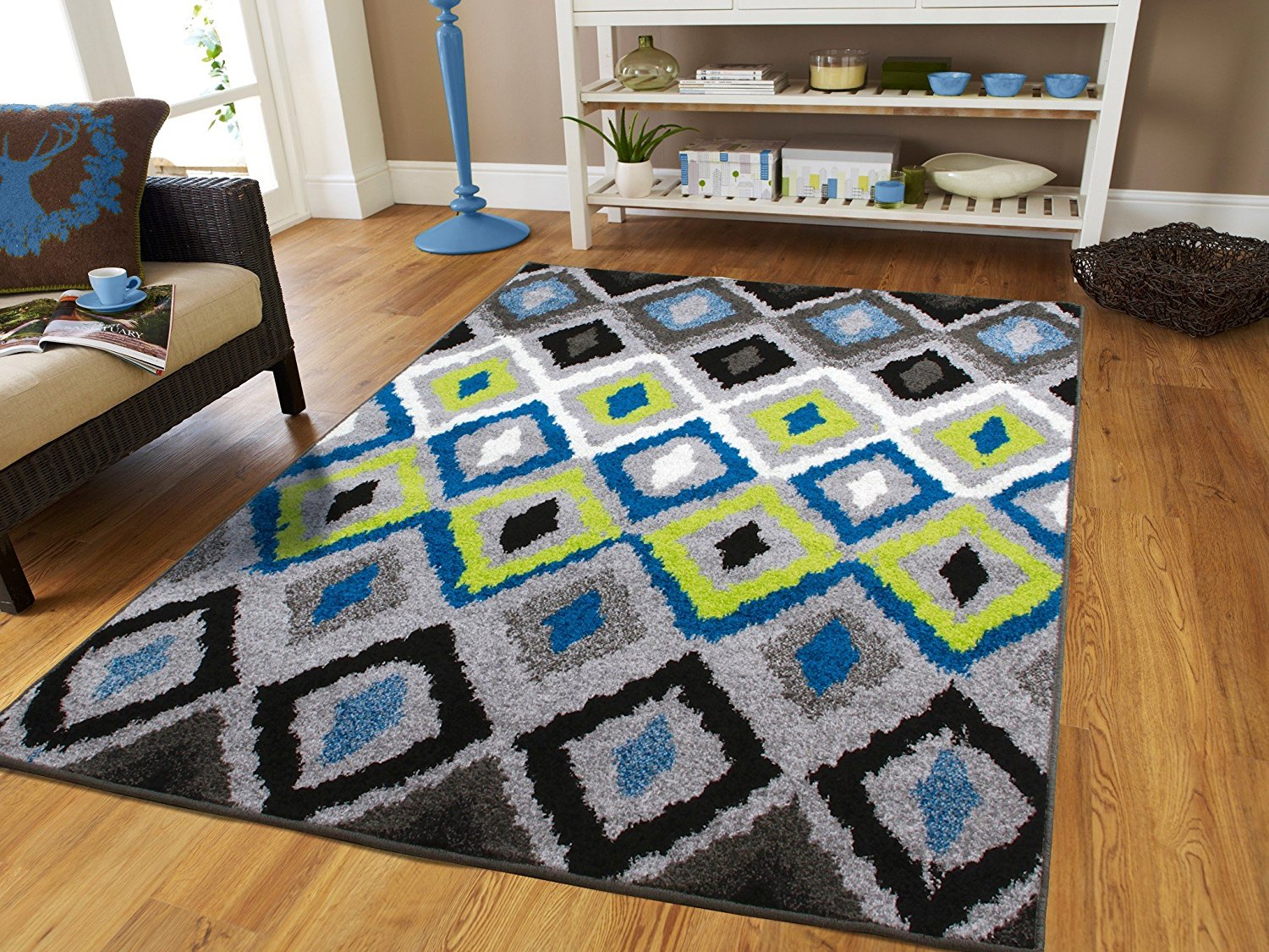 Contemporary Area Rugs 5x7 Area Rugs On Clearance 5 By 7 Rug For Living  Room Blue