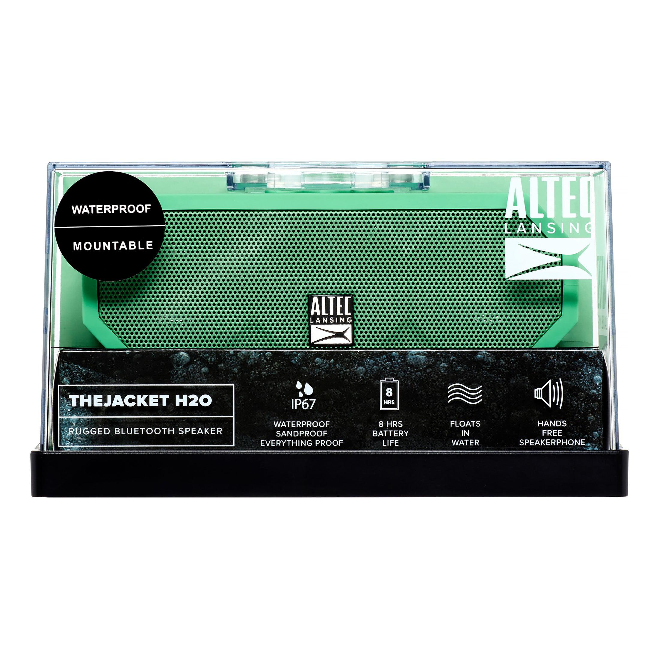 Altec Lansing IMW457-MT Jacket H2O Bluetooth Wireless Speaker,?Mint by Altec Lancing