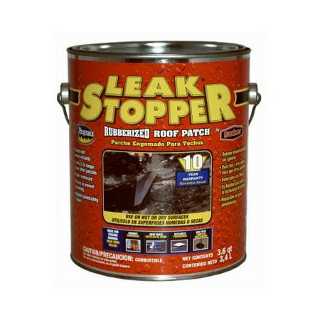 Black Leak Stopper Rubberized Roof Patch Walmart Com