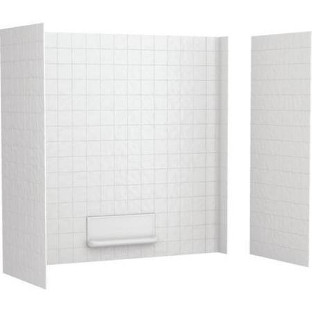 Swan Veritek Swantile# Tub Wall Surround Three-Piece White ...