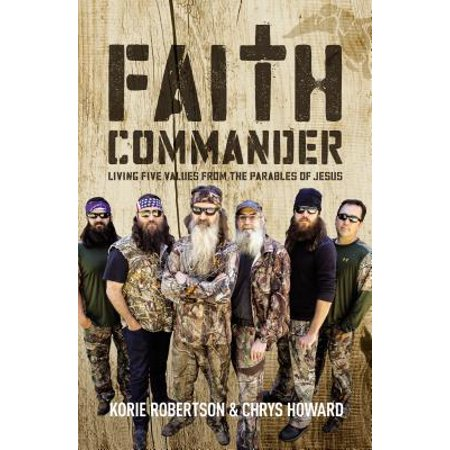 Faith Commander : Living Five Values from the Parables of Jesus - Jesus The Living Water