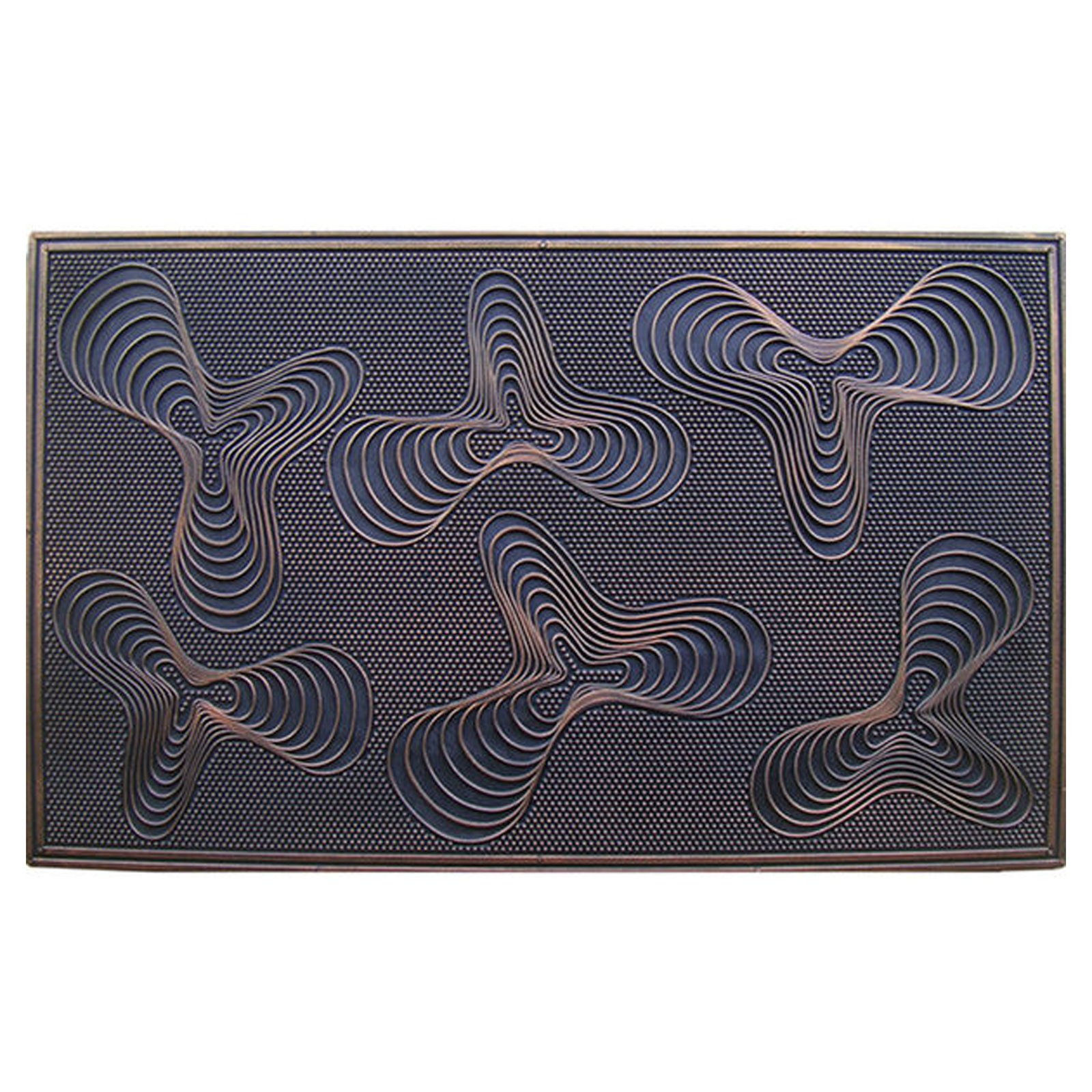 First Impression Rubber Grill Pin Door Mat
