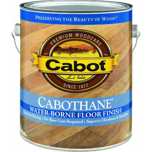 Cabot Cabothane Water-Based Floor Finish