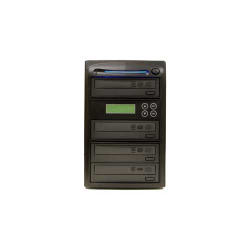 Produplicator 4 Burner 52X CD Duplicator Machine with Bui...