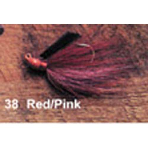 Click here to buy Arkie 1 4 Bucktail 6 cd Red w Pink.