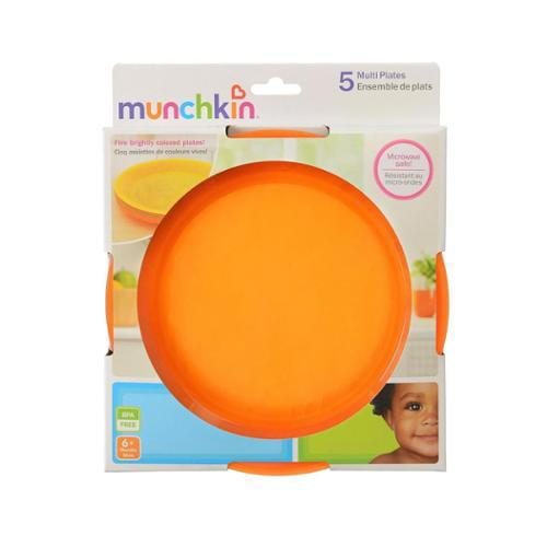 Munchkin Multi Plates, 5 ea (Pack of 4) by Munchkin
