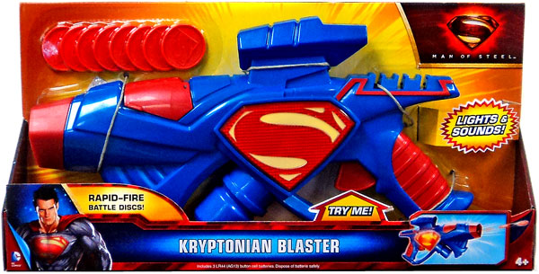 NEW SUPERMAN MAN OF STEEL AUTO ASSAULT SUPERMAN w// CAR DOOR WEAPON FREE SHIPPING