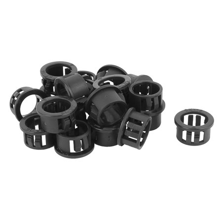 20pcs 16mm Mounted Dia Snap in Cable Hose Bushing Grommet Protector - Snap In Bushing