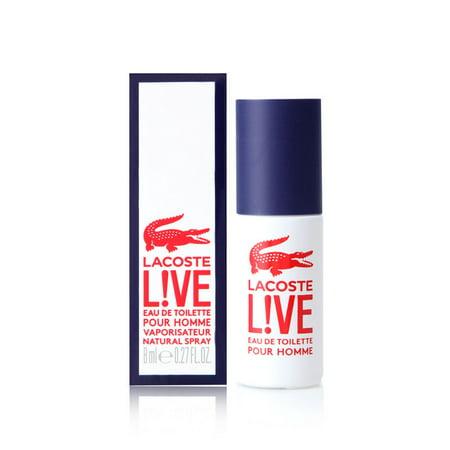 nowy wygląd najlepiej autentyczne zakupy Lacoste L!ve for Men 0.27 oz Eau de Toilette Travel Spray