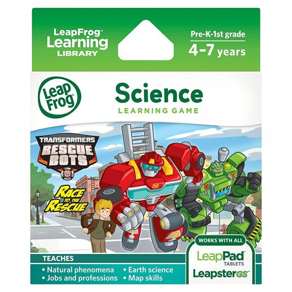 LeapFrog Transformers Rescue Bots Race to the Rescue by