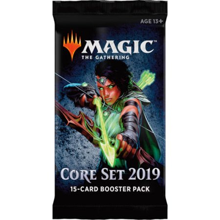 Magic: The Gathering - Core Set 2019 - TEN (10) Count Booster Pack
