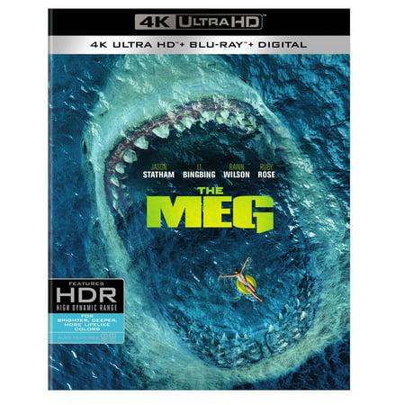 The Meg (4K Ultra HD + Blu-ray + Digital) (Halloween 4 Blu Review)